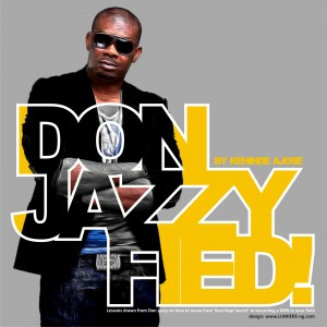 Cover of Kehinde Ajose's new book 'Donjazzyfied'   released