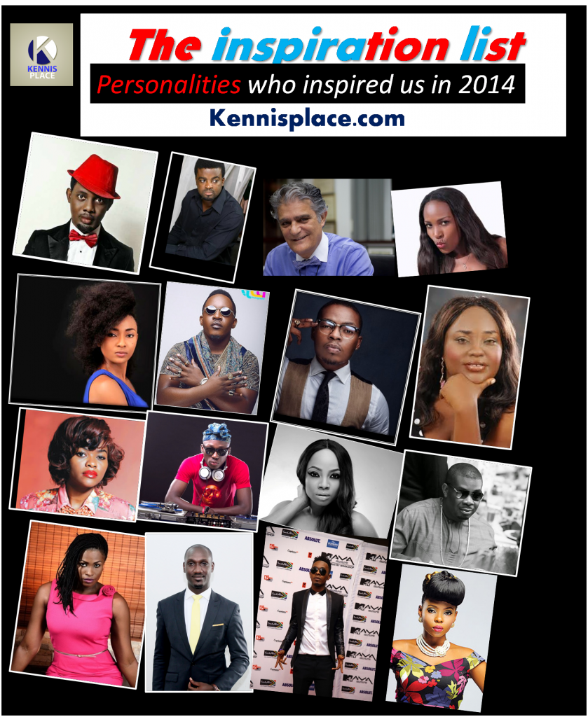 Kennis Place Inspiration List: The Headliners Who Inspired Us in 2014