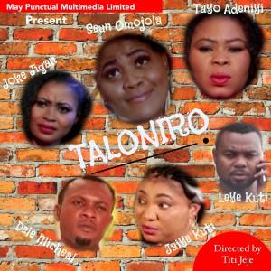 Actress Seun Omojoola Releases Taloniro