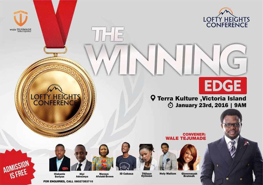 Olakunle Soriyan, Niyi Adesanya and others for Lofty Heights Conference