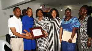 WALK AGAINST RAPE PAYS COURTESY VISIT TO THE LAGOS STATE MINISTRY OF WOMEN AFFAIRS. …..GETS SUPPORT