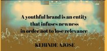 HOW YOUTHFUL IS YOUR BRAND?